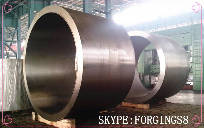 Forged Steel Roller Hydrogenation Reactor Cylinder Section