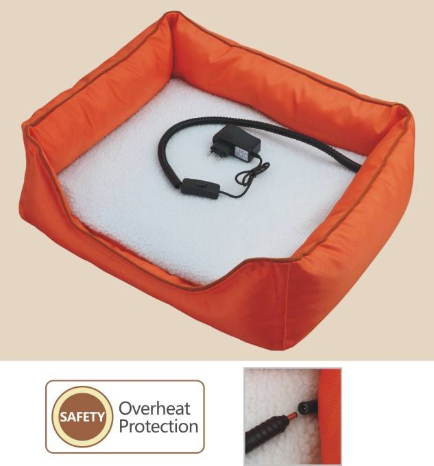 Electric pet warmer bed