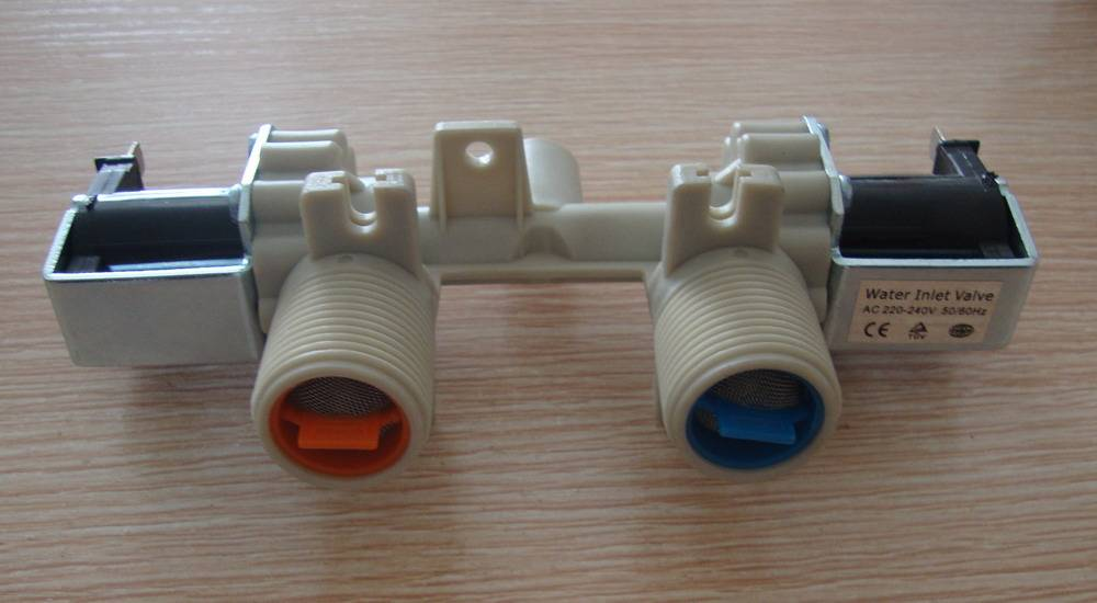 LG doule inlet valve