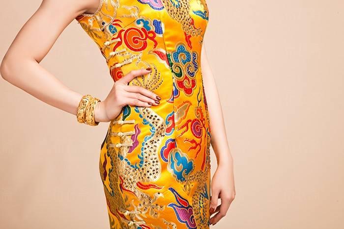china tradtitional style dress beautiful cheongsam qipao