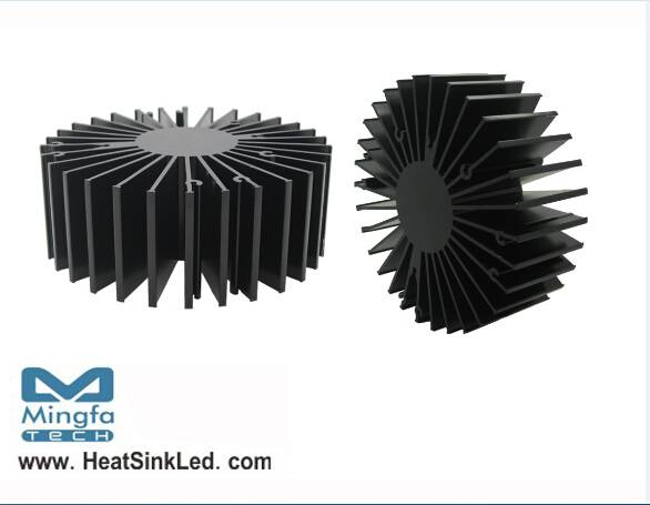Bridgelux Modular Passive LED Cooler Cool-LED Simpo-BRI-13550