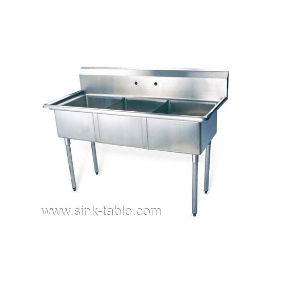 Sale Triple Bowl Stainless Steel Sink FSA-2-N 01