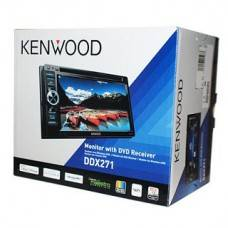 Kenwood DDX271 Double Din In-Dash Touchscreen Car DV Player