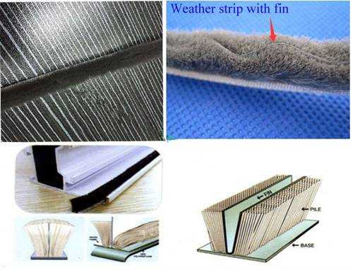 Weather Strip with Fin