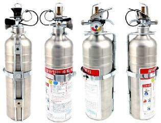 manual/automatic fire extinguisher