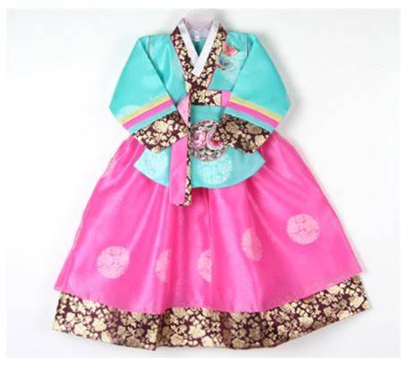 Korean Traditional Hanbok for Kids