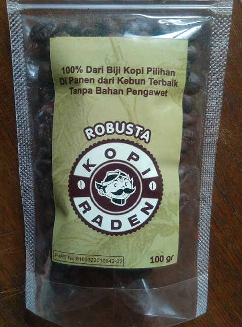 Indonesian signature Coffee Bean