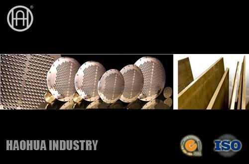 Aluminium Bronze Baffle & Tubesheet