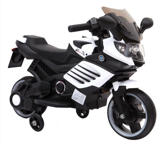 fashion design popular style ABS plastic material battery power rechargeable kids ride electric moto