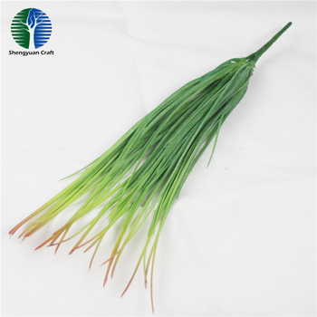 Green wall ornaments string shape artificial foliage plant