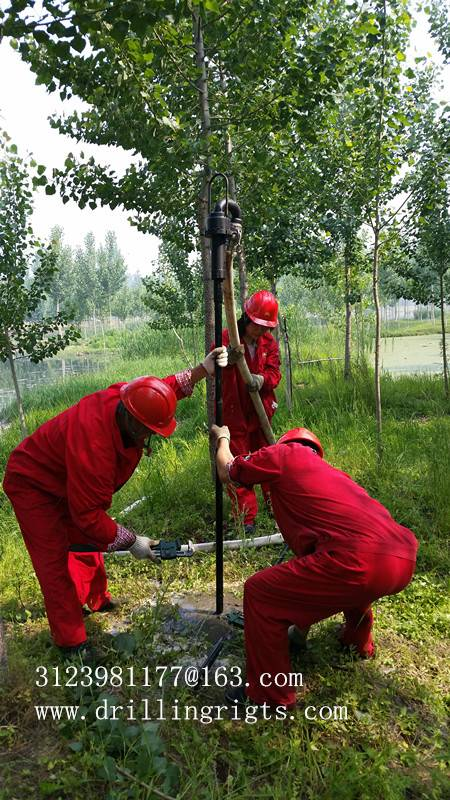 TSP-flush 40 portable drilling rig