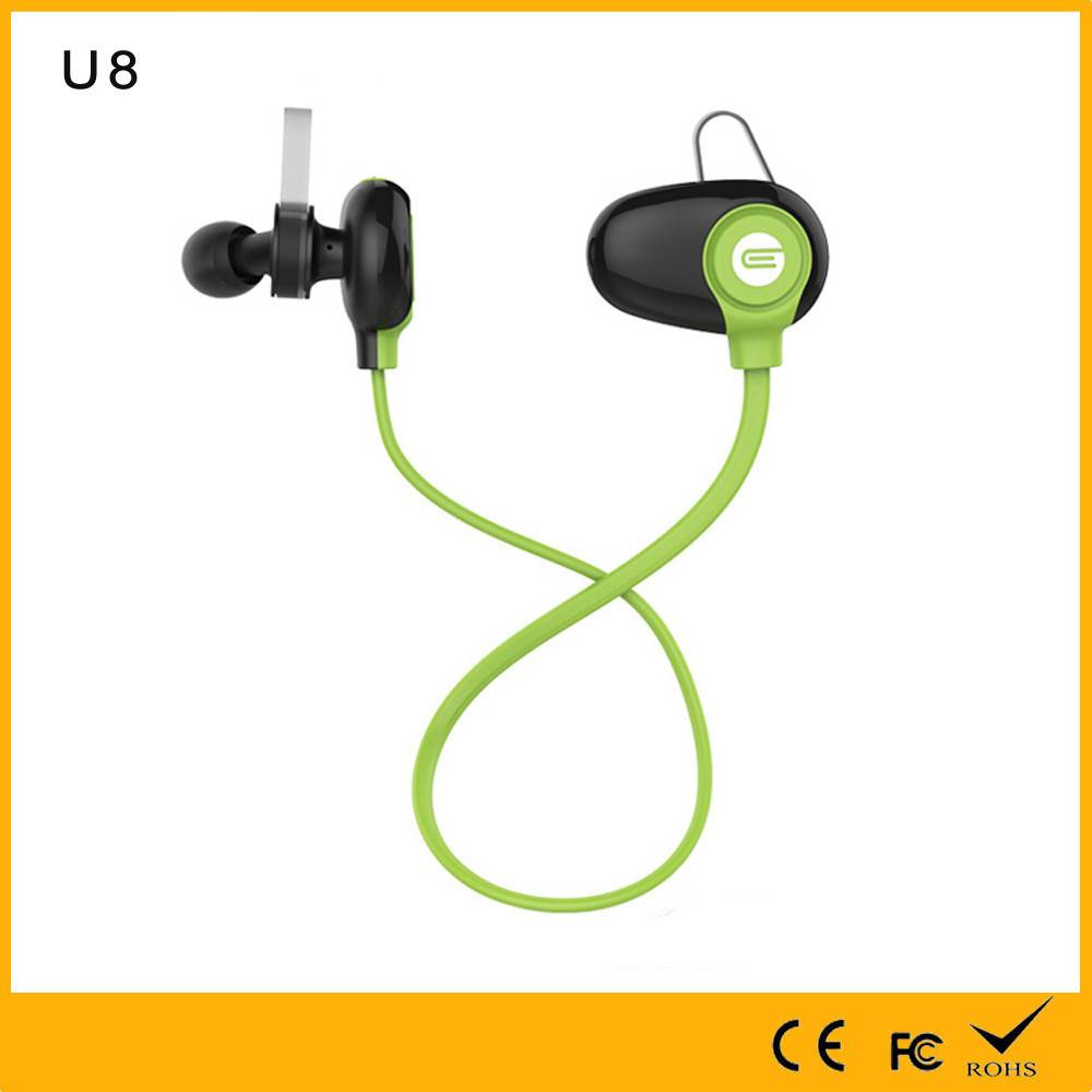 Quality Assurance with 2 phones connected Wireless earphone Bluetooth 4.0 shenzhen earphone with fac