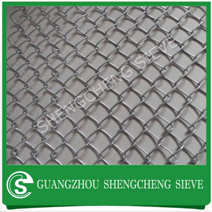 PVC coated galvanized steel chain wire fencing for sale