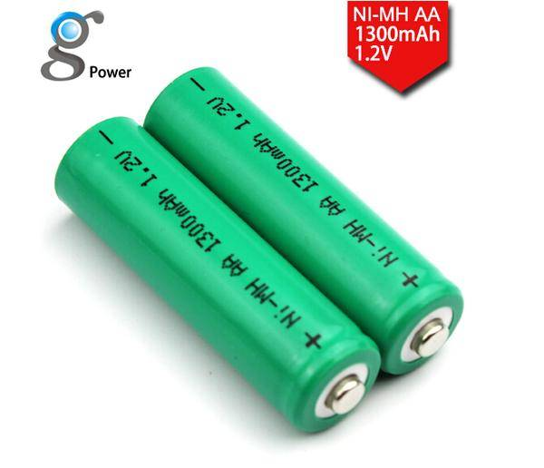 high quality Ni-MH 1.2V AA battery 1300mAh
