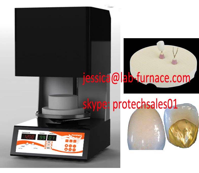Protech lab vacuum dental porcelain furnace
