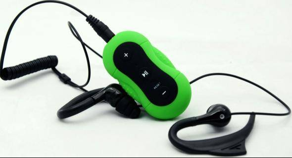 Underwater mp3 player for swimming sports---MD190