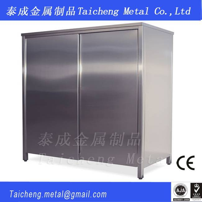 Stainless steel stocking cabinet