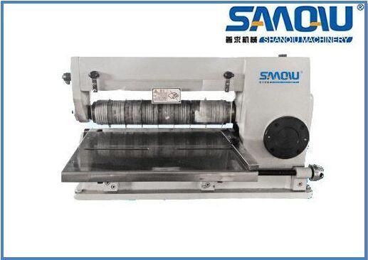 splitting machine leather label cutting machine