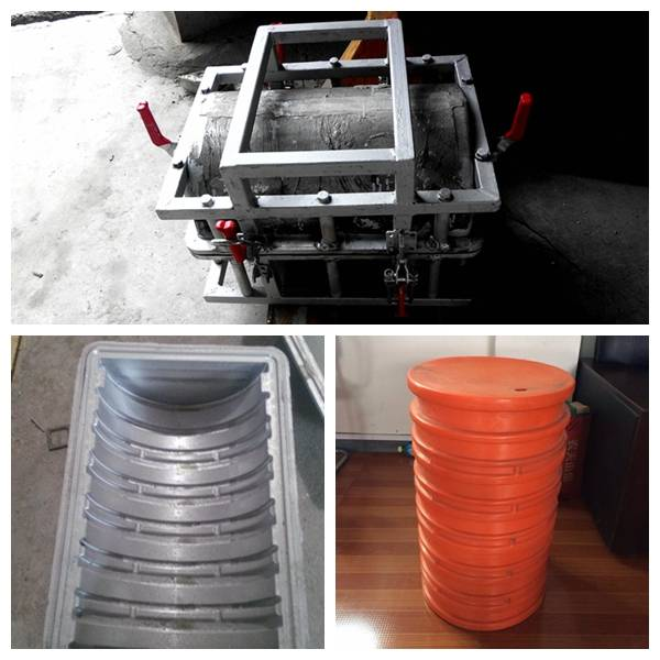 Plastic barrel rotational mould, aluminum die casting mould, rotomolding water tank mould