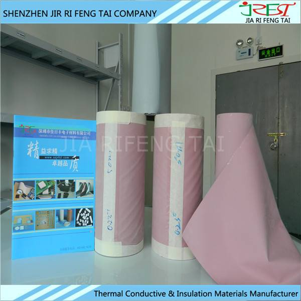 1.6W/m.k Thermal Conductivity Insulation Silicone Fiberglass Fabric