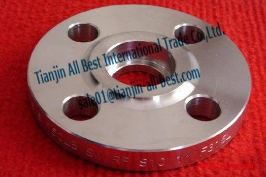 Stainless socket welding flanges