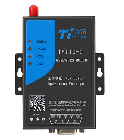 Industrial wireless LTE/4G IP modem with SMS backup for remote monitoring