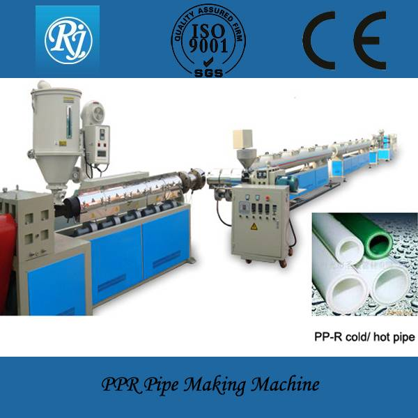 PPR/PP/PE plastic pipe machinery CE/ISO