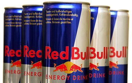 Red...Energy Drinks, Bull Energy Drinks, Monster Energy, XL Energy Drinks, Shark Energy, V Energy, R
