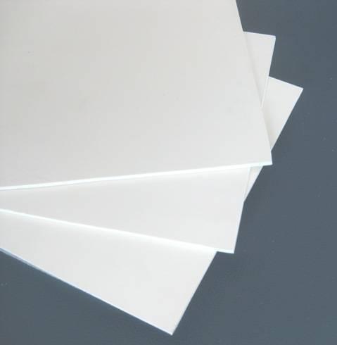 4x8 certificated out door solid vinyl plastic pvc board