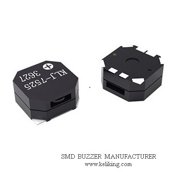 SMD Magnetic Buzzer Surface Mounted Buzzer Small Buzzer for GPS devices, POS machine, KLJ-7525-3627