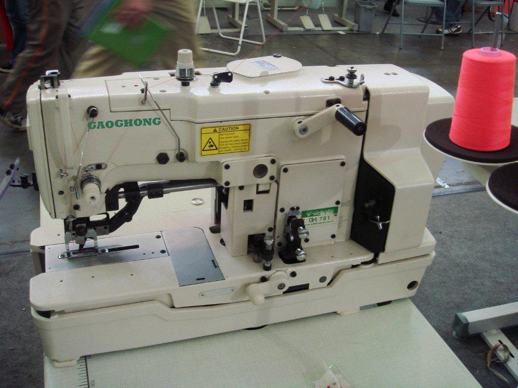 781 button hole sewing machine