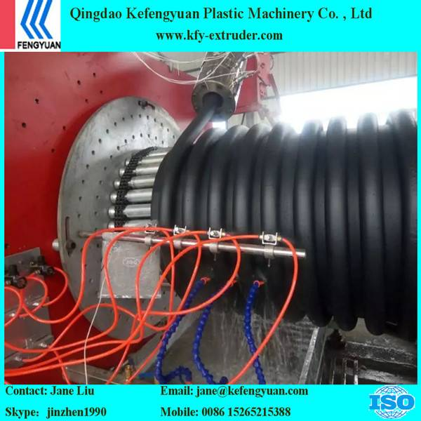 Continously Krah pipe making machine