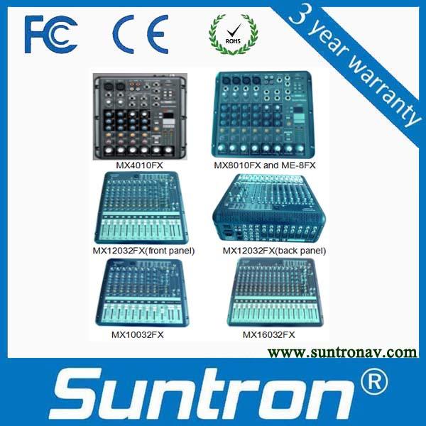 SUNTRON MX Series Mini Audio Mixer