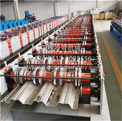 YC 914-75 Steel Floor Deck Roll Forming Machine