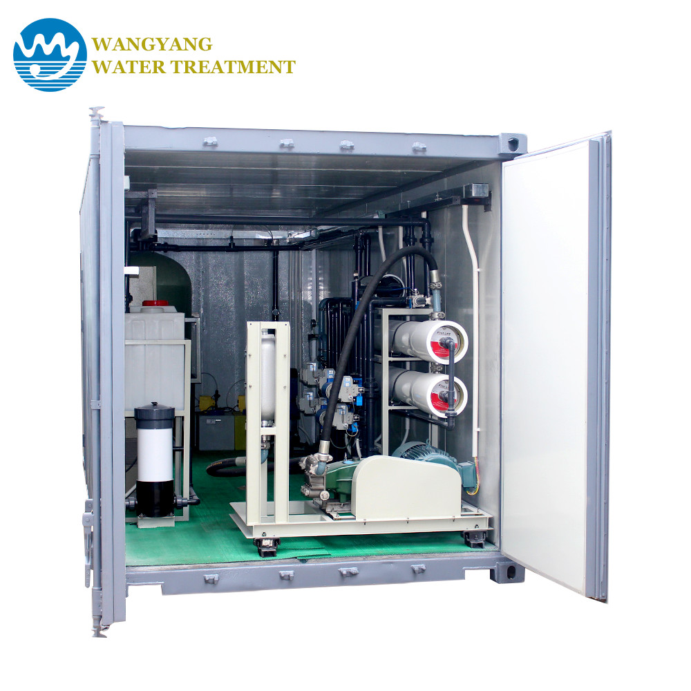 Containerized Seawater Desalination System - Zhuhai