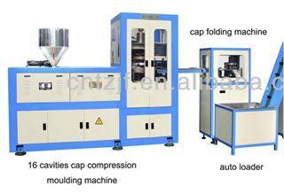 Taizhou plastic cap compression molding machine