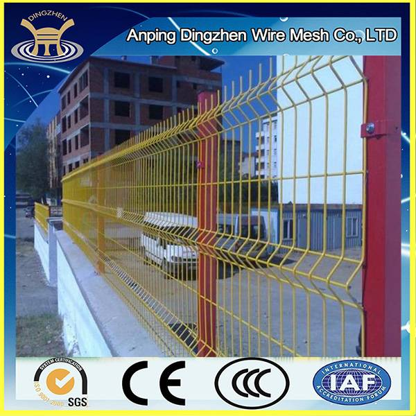 low price high quality 3d wire mesh fence