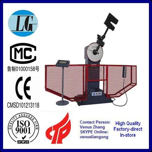 JB-300S Digital Display Semiautomatic Impact Testing Machine