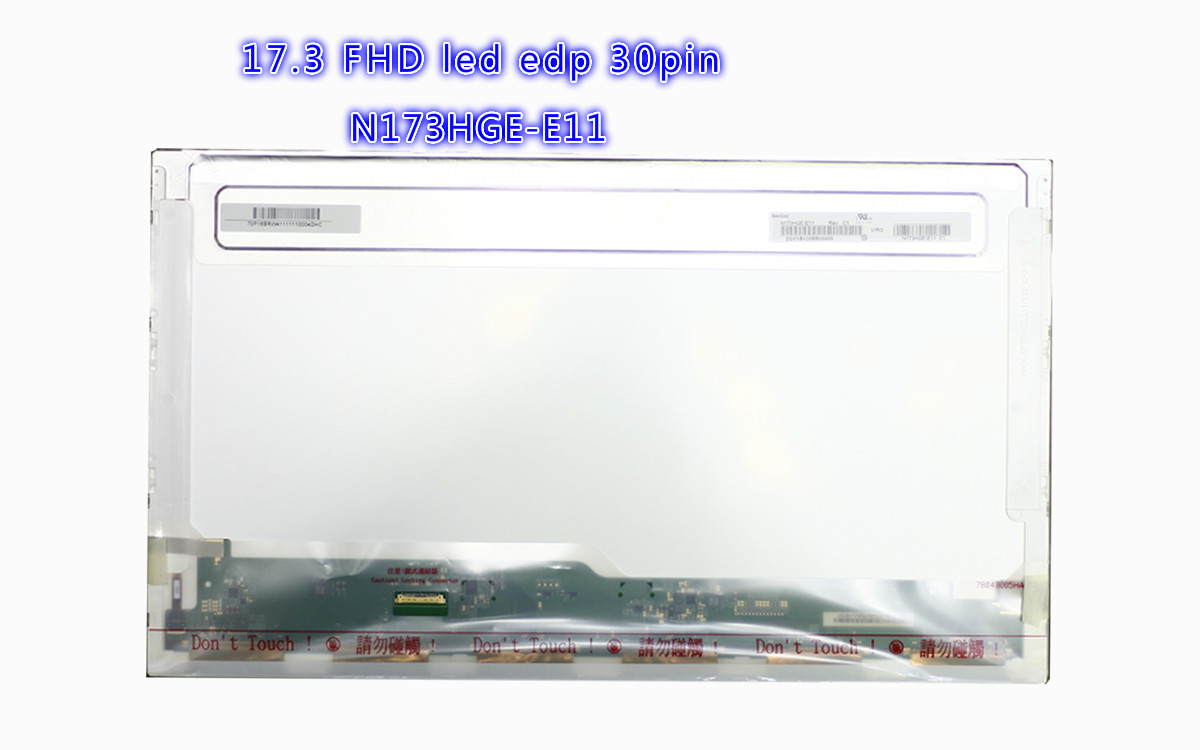 17.3 FHD laptop screen 1920X1080 LED B173HW01 V.3 V.4 N173HGE-L11 N173HGE-L21