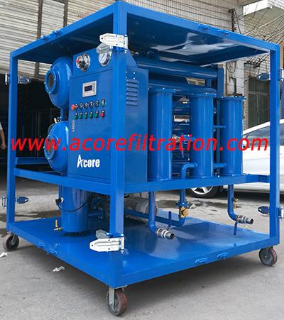 Mobile Transformer Oil Degassing Processing System