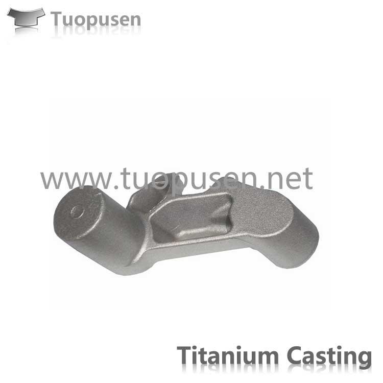 Titanium alloy investment casting Grade C2/3/5 with HIP