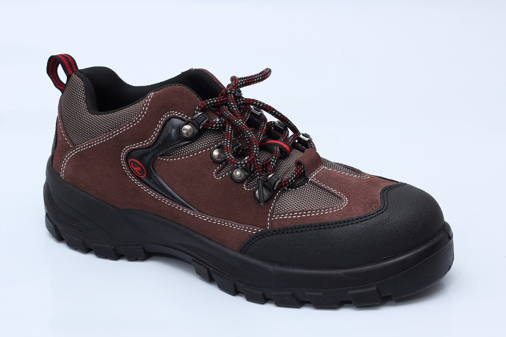 safety shoes work boots 6326 suede leather rubber outsole