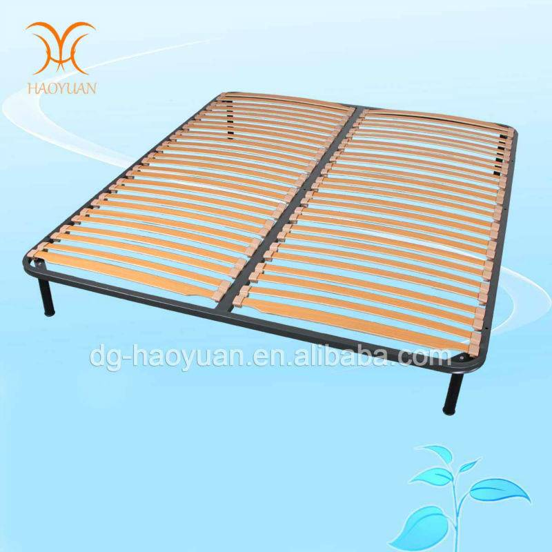 China Manufacturer Modern Bedroom Furniture Luxury Wooden and Metal Bed Frame