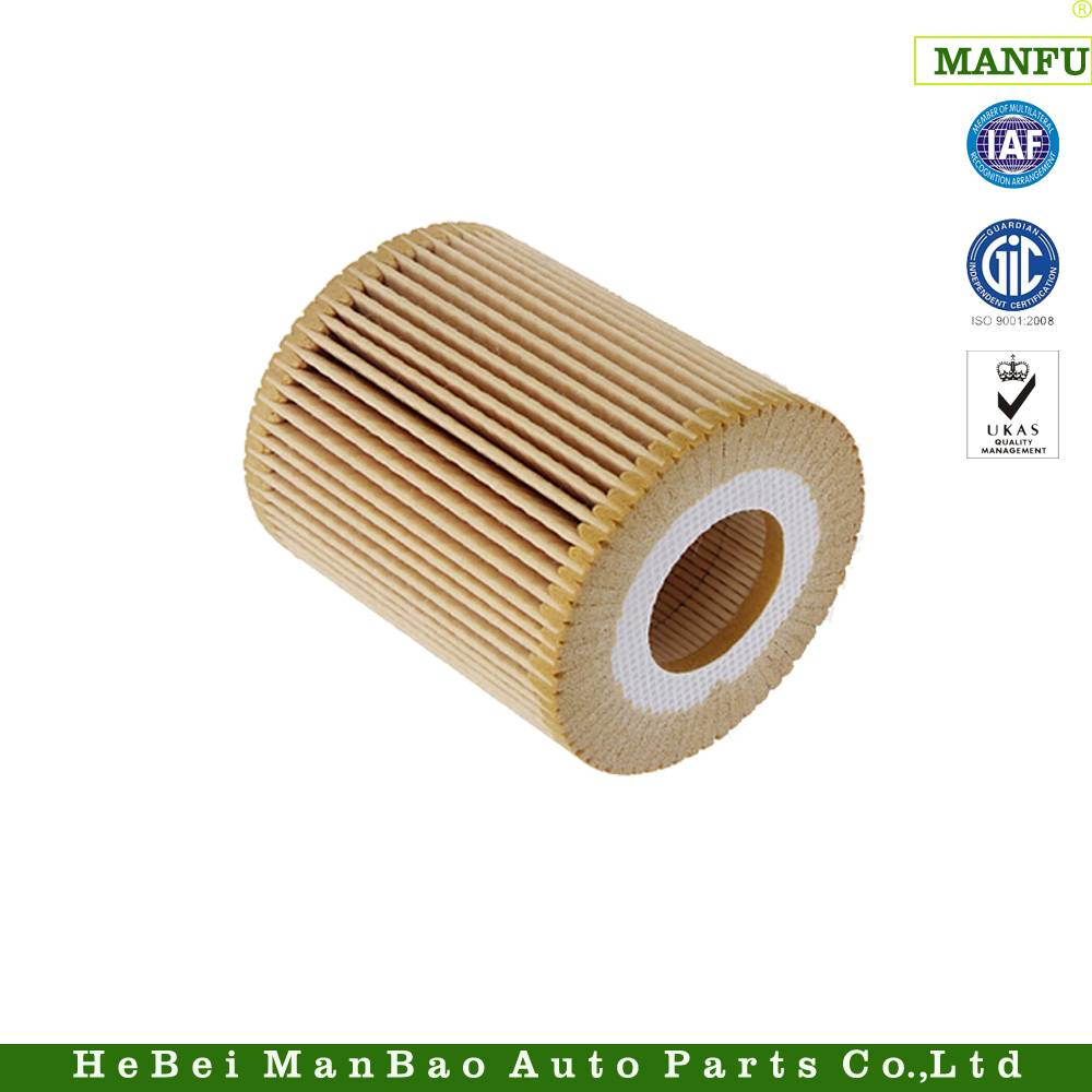 Practical Paper Core Auto Oil Filter for BMW (11 427 508 969)