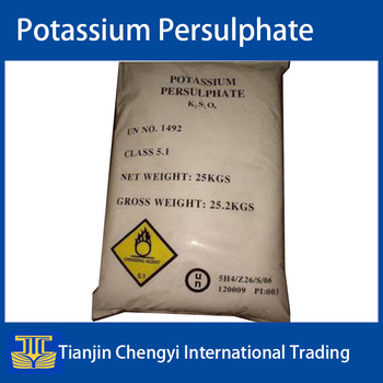 China quality potassium persulphate with CAS 7727-21-1 price