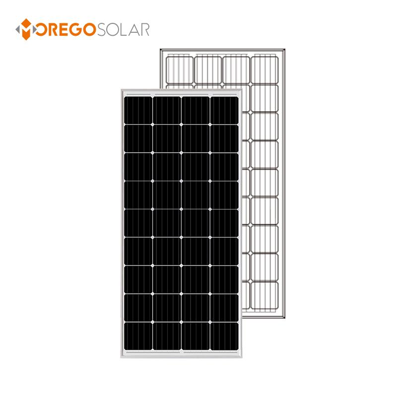 Wholesale Moregosolar 12V small solar panel monocrystalline 150W 160W 165W 170W 175W 180W panel