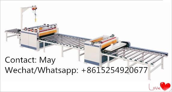 Automatic Paper sticking lamination machine