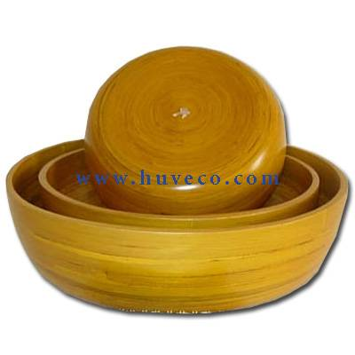Bamboo Bowl Set