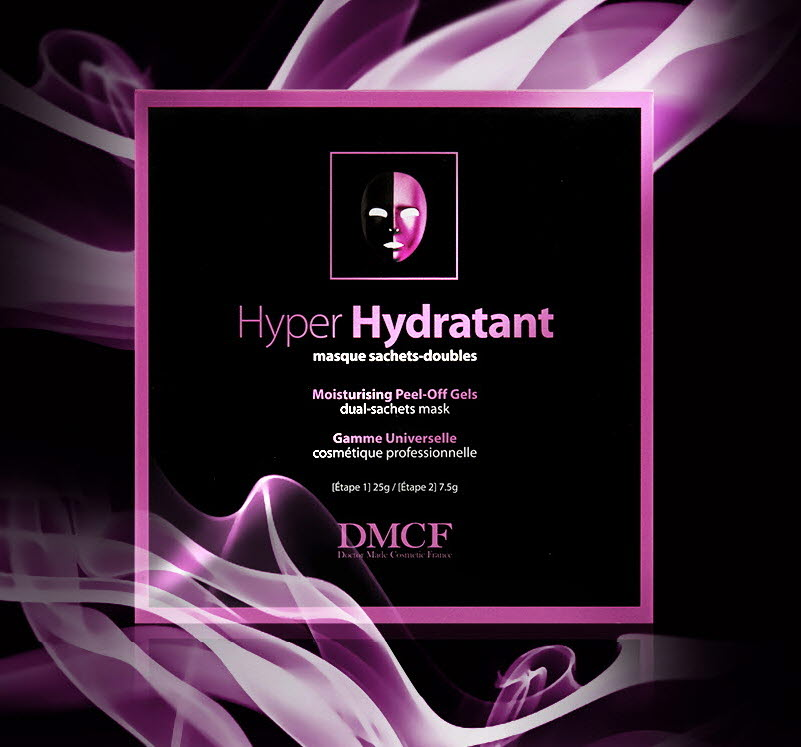 DMCF Hyper Hydratant Peel-Off Gel Mask - moisturizing mask for dry and normal skin