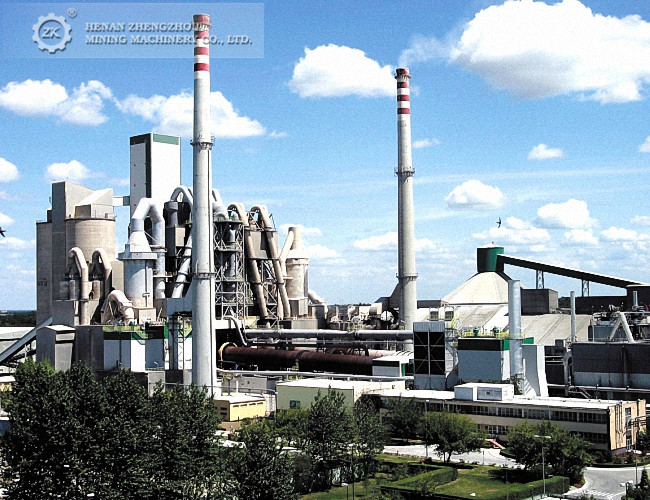Complete Cement Production Line Cement Making Plant Equipments for sale